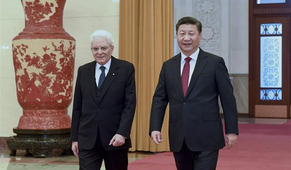 State Visit of the Italian President to China