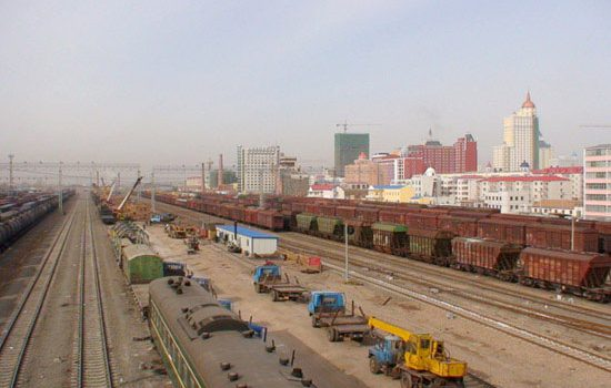 Manzhouli, a gateway to the OBOR