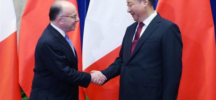 Visite du premier ministre français Bernard Cazeneuve en Chine