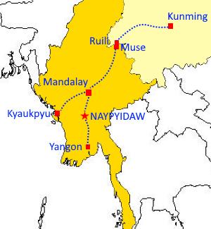 china myanmar corridor oboreurope