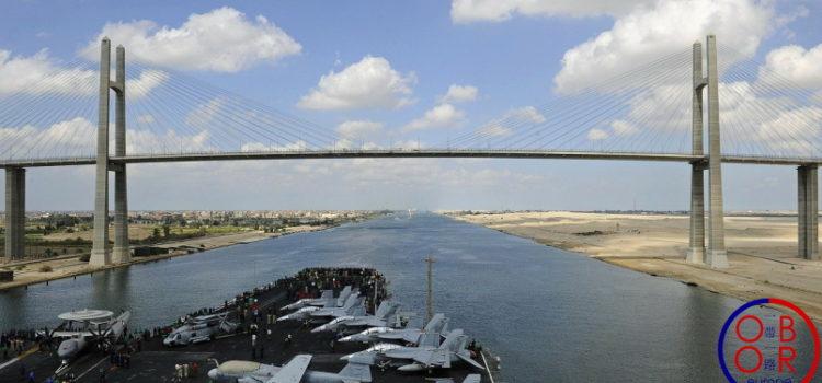 La BRI: créer des alternatives au canal de Suez