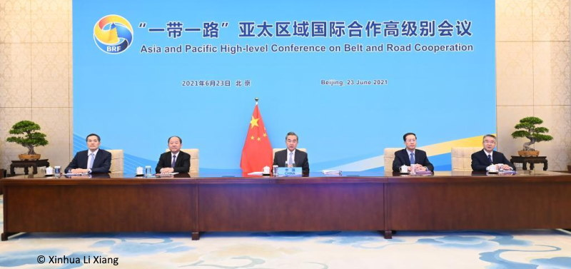 This image has an empty alt attribute; its file name is asia-belt-road-wang-yi.jpg